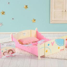 レミン&ソラン | ミッキー&ミニー おおきなベッド&ふとんセット